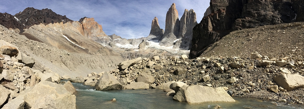 The Torres del Paine, Patagonia, Chile