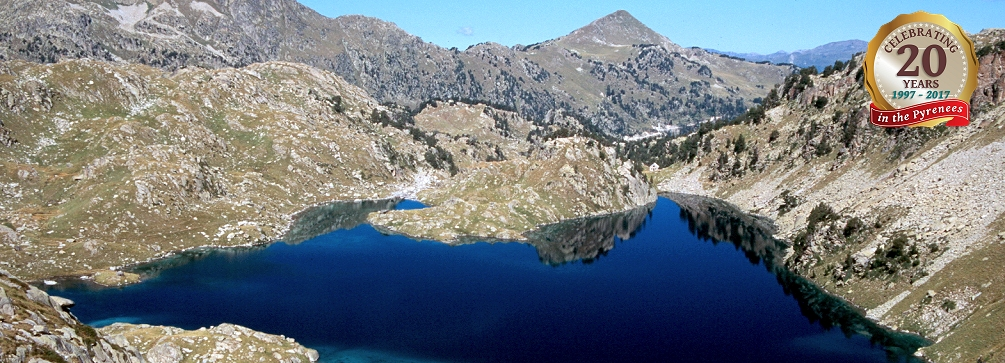 Estany Obago (lake), Aigues Tortes National Park, Pyrenees of Spain
