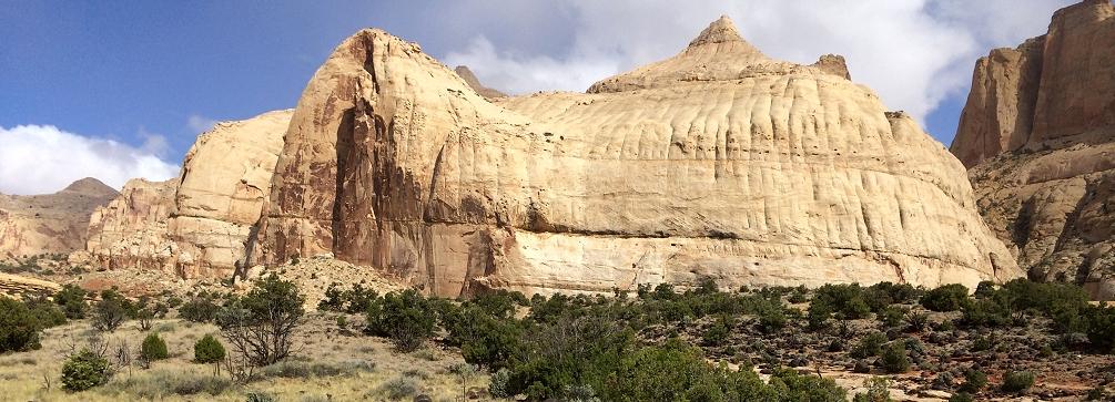 Navajo Dome, Capitol Reef National Park, Utah