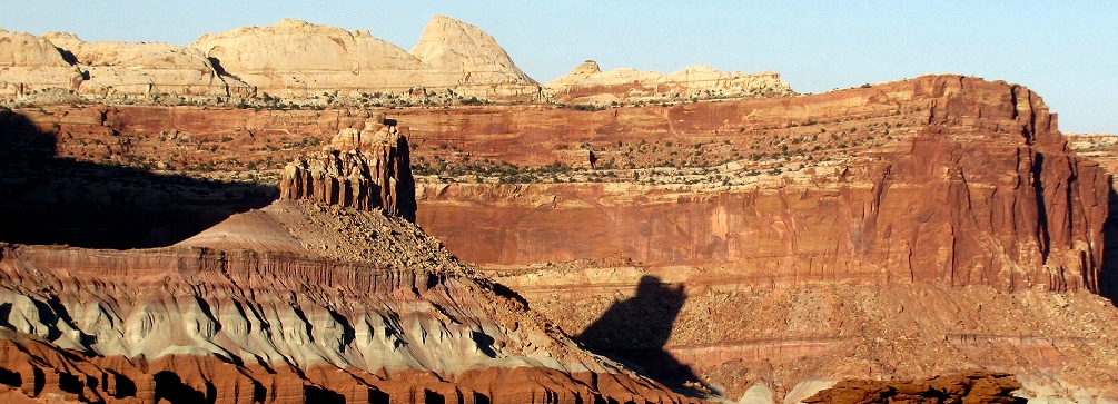 Red rock country - The Castle in Capitol Reef National Park, Utah