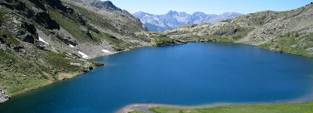 Lac de Vens in the Haute Tinée, Maritime Alps of France