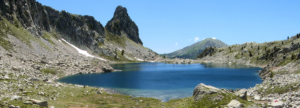 Lac Negre and Caire Ponchu, Maritime Alps, France