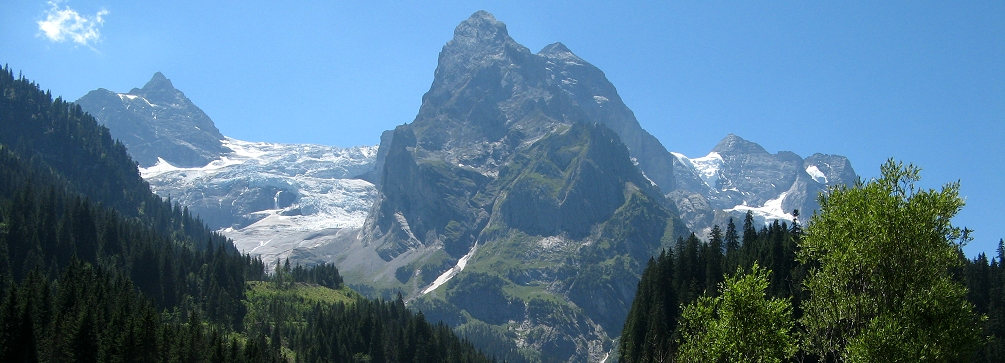 The Wellhorn  en route to the Grosse Scheidegg, Switzerland