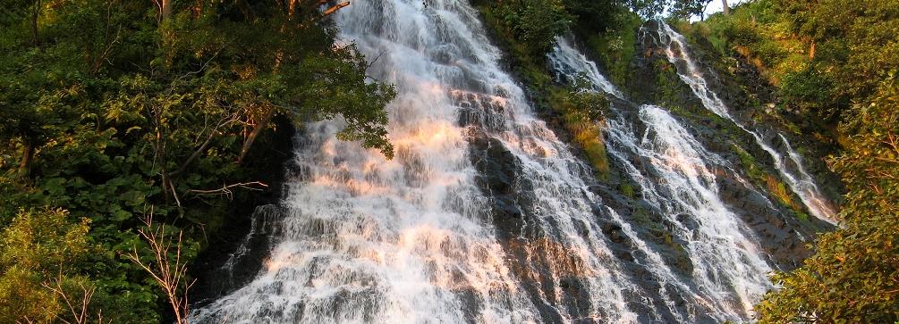 Oshinkoshin Falls, Shiretoko World Heritage area, Hokkaido, Japan