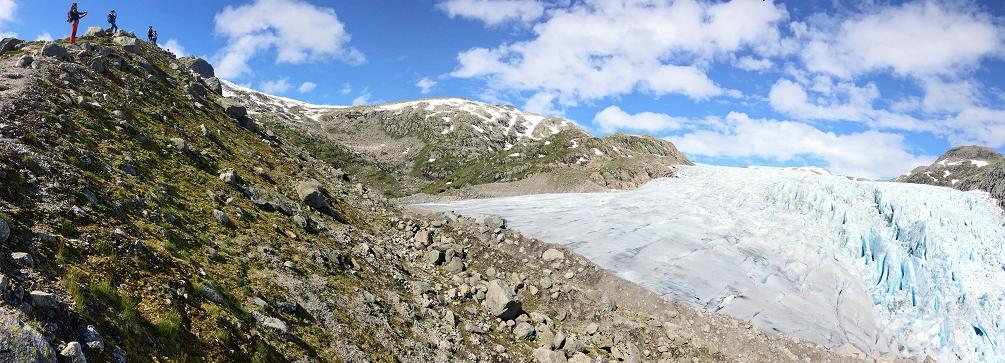 Flatbre, Jostedalsbre, Sogn og Fjordane, Norway